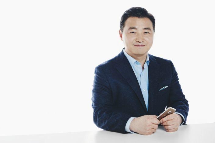 三星電子智慧手機事業新負責人盧泰文。圖/擷自三星官網