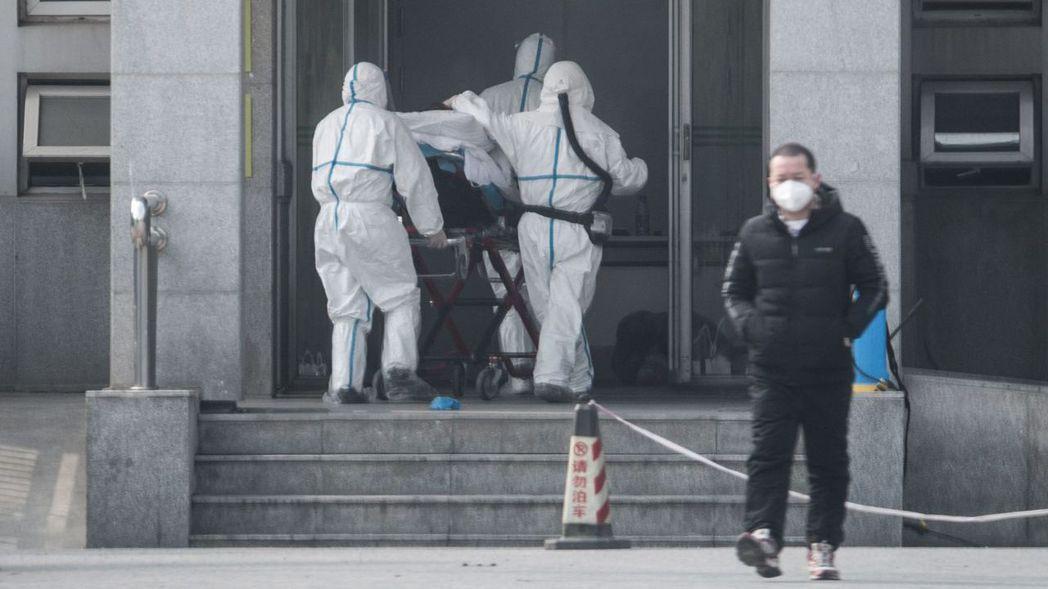 武漢市衛生健康委員會通報周末兩日確診136例新型冠狀病毒感染的肺炎病例。 (歐新...