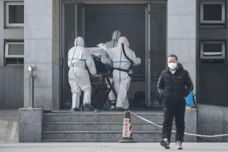 武漢市衛生健康委員會通報周末兩日確診136例新型冠狀病毒感染的肺炎病例。歐新社