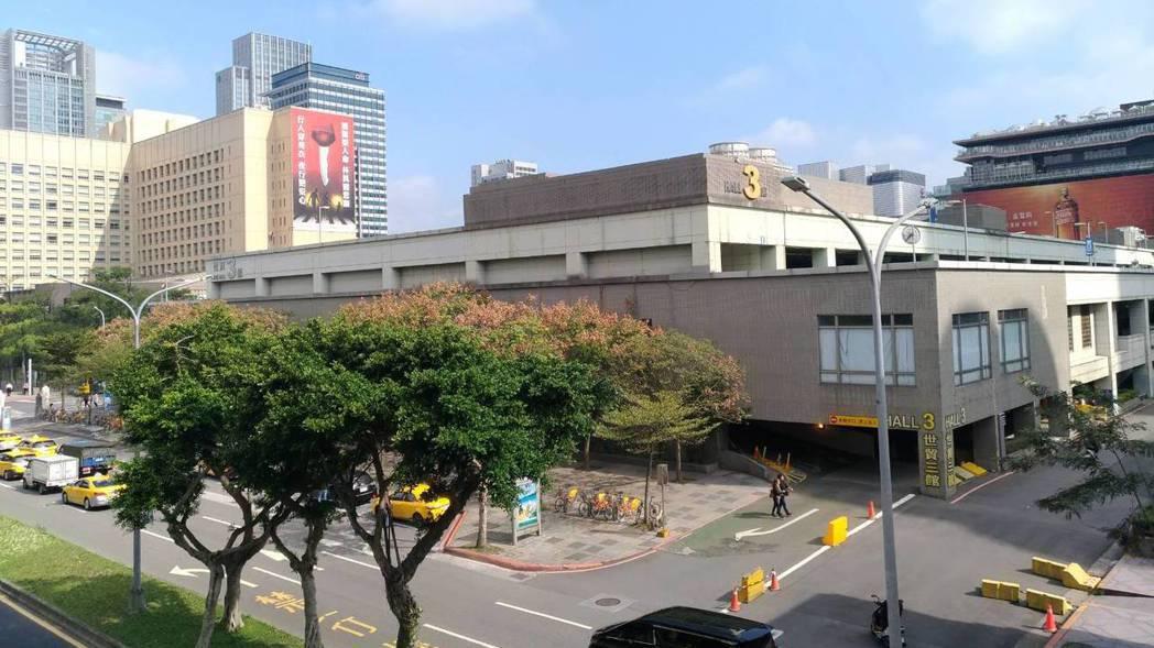 世貿三館。   記者游智文/攝影
