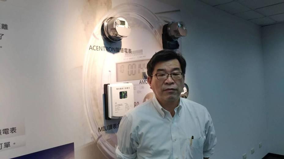 斯其大董事長吳端煇表示,獲全球最大電表廠Itron共拓中南美4G通訊模組市場,今後商機龐大可期。記者張義宮/攝影