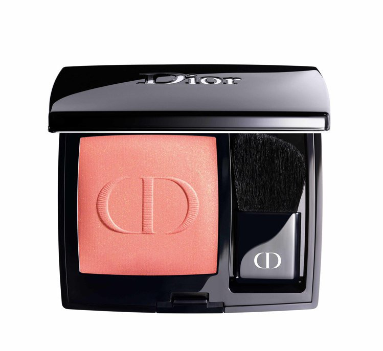 迪奧藍星訂製腮紅盤 6.7g #534/1,700元。圖/Dior提供