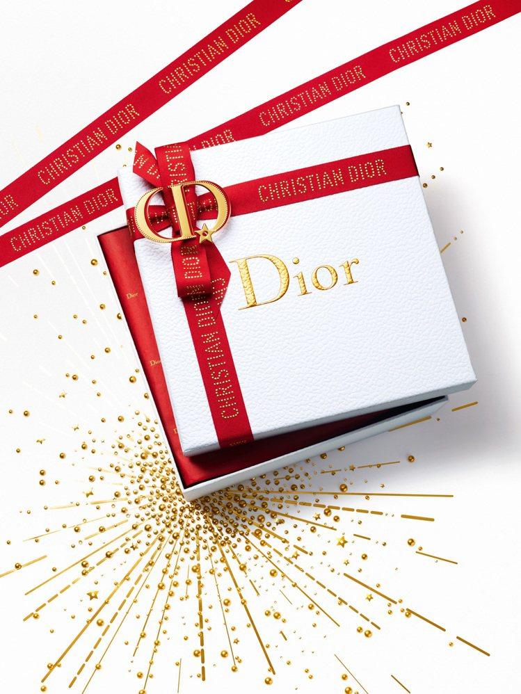 迪奧 2020年,幸運新年禮盒包裝。圖/Dior提供