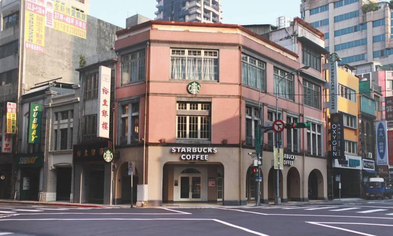 星巴克台北「重慶門市」。圖/星巴克提供