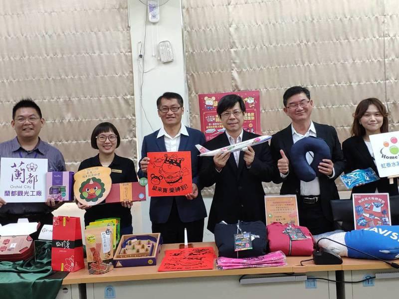 春節將至,台南市觀光工廠推出系列優惠邀請遊客搶好康。記者謝進盛/攝影