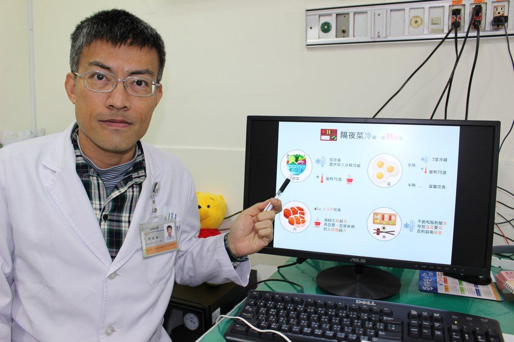 過年醫師教你健康吃防止腸胃炎。圖/聯合報系資料照片