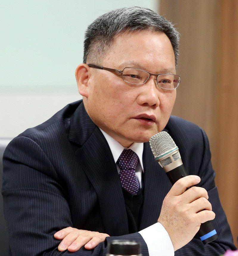 財政部長蘇建榮呼籲地方政府應維持租稅合理性。記者侯永全/攝影