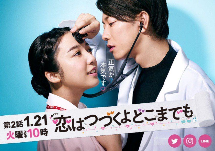 佐藤健與上白石萌音主演《戀愛可以持續到天長地久》。圖/擷自日本官網