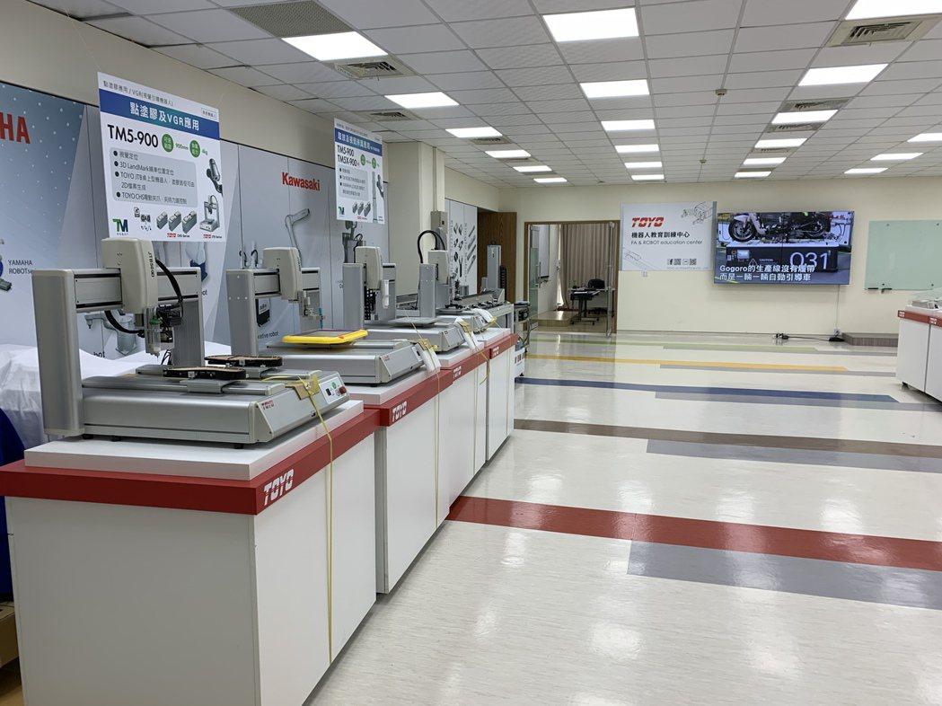 東佑達機器人教育訓練中心。業者/提供