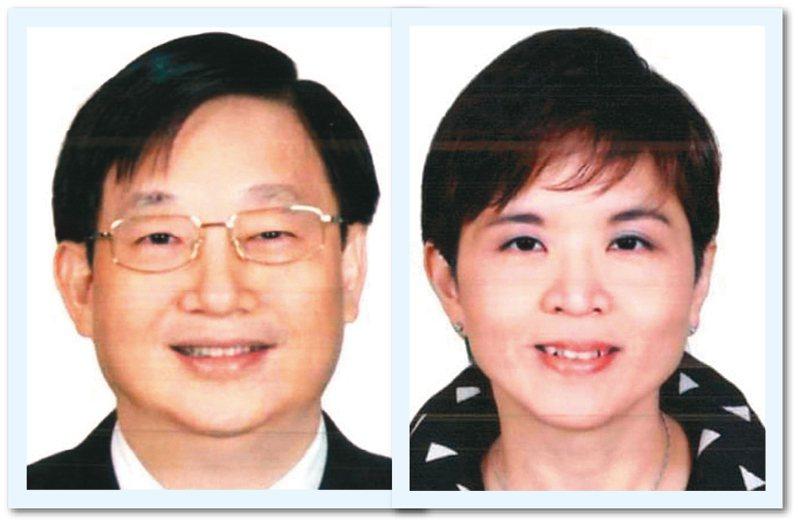 潤寅集團負責人楊文虎(左)、王音之(右)夫妻。 圖/調查局提供