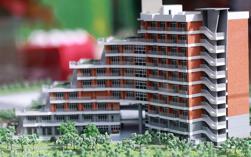 台北大學三峽校區新宿舍大樓確定命名為「辰曦樓」。 圖/取自台北大學官網