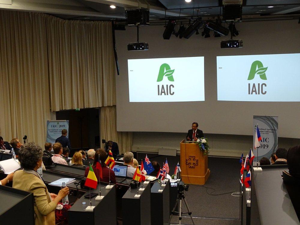 國際農業創新研討會今年大會著重探討農業永績與循環經濟議題。國際農業永續學會/提供...