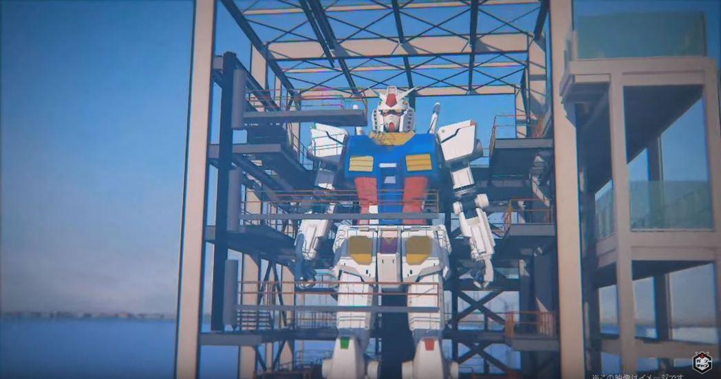 橫濱「GUNDAM FACTORY YOKOHAMA」最大賣點是可動的18公尺高...