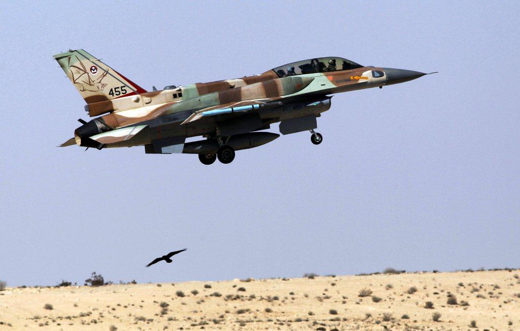 以色列F-16戰鬥機。 圖/路透社
