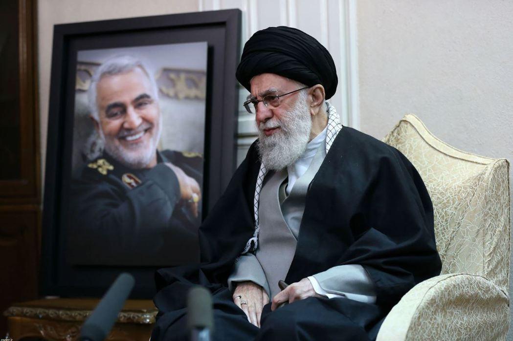 伊朗最高領袖哈梅尼(Ayatollah Ali Khameni)。 圖/法新社