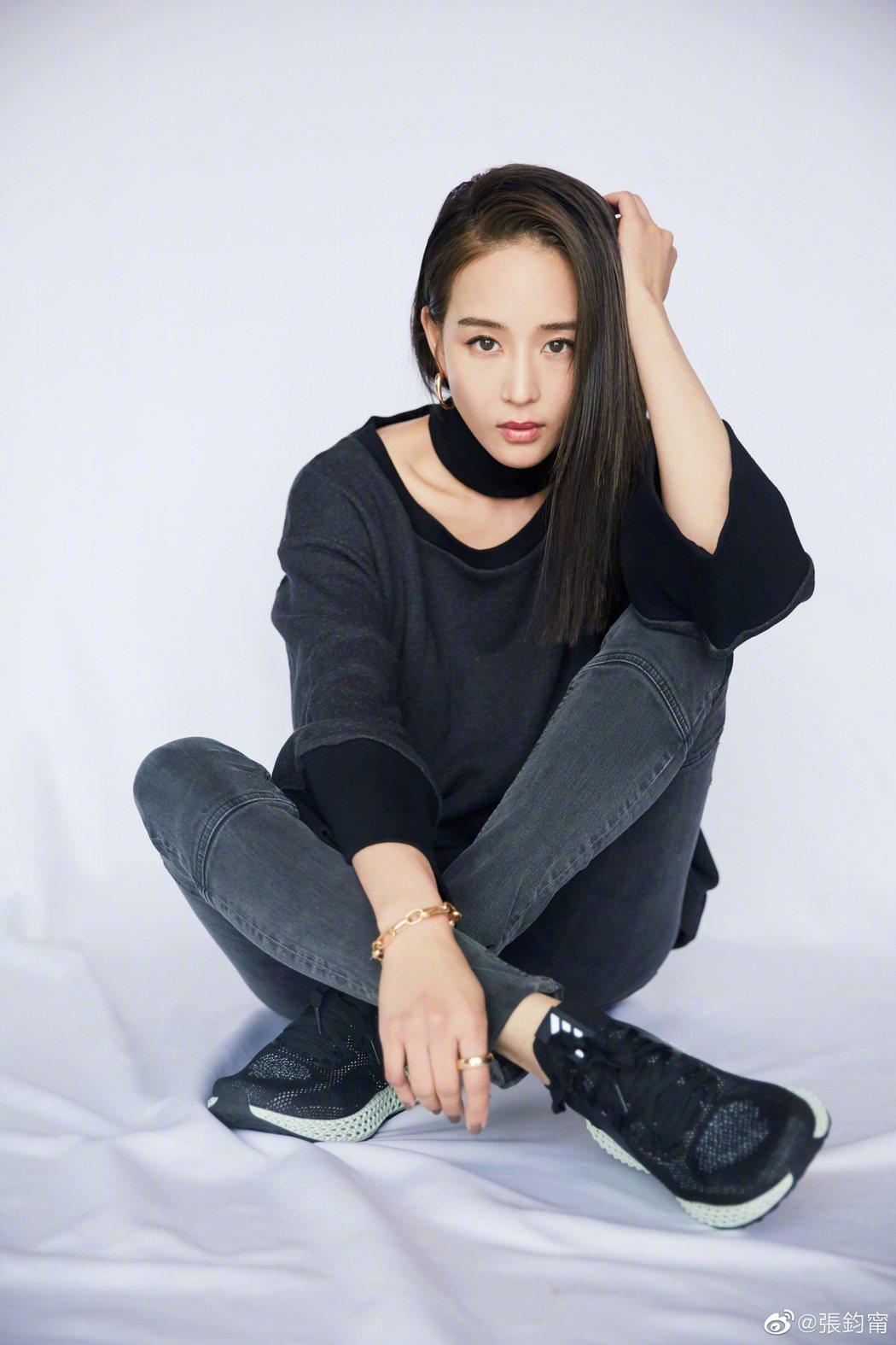 張鈞甯是網友心中的氣質女神。圖/擷自微博