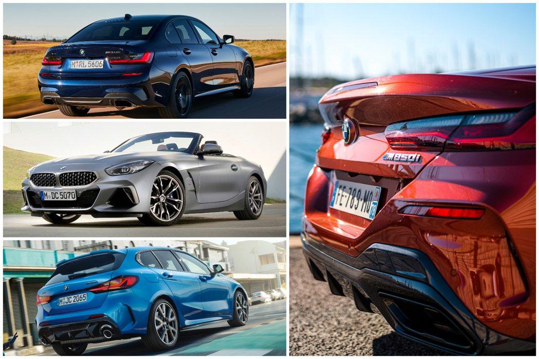 多樣化的BMW M Performance車款選擇,亦是助長BMW M整體銷量提...
