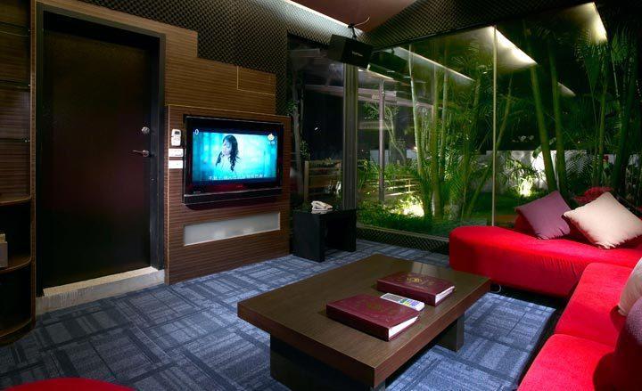 和風的皇家Villa,有獨立的KTV包廂 業者/提供