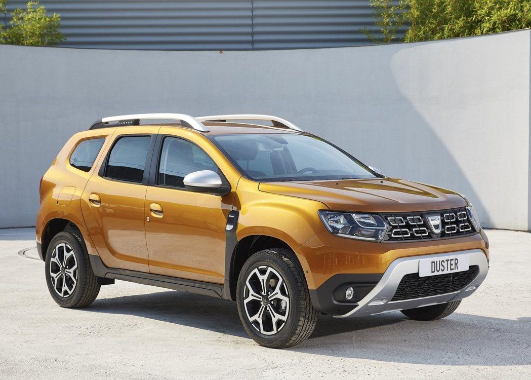 Dacia Duster小休旅以高CP值的價位登上銷售榜第2名。 圖/Dacia...