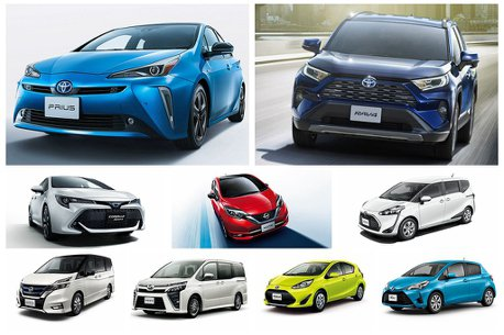 Toyota不僅是最大贏家,Prius更重回寶座!2019日本乘用車銷售Top 10