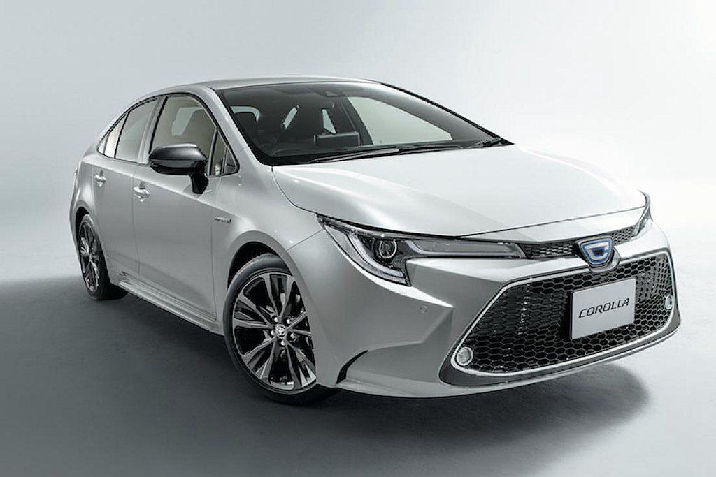 Toyota Corolla車系2019年銷售成長16.1%,在日本共賣出10....