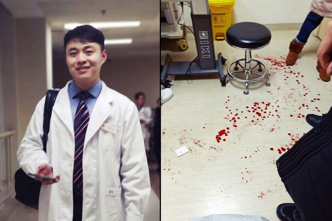 1月20日下午2點。遇襲的眼科主任陶勇,當時正在醫院7樓進行例行門診,不料一名男...