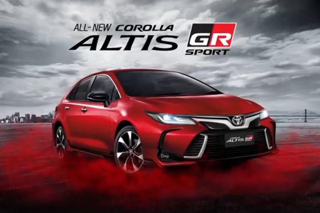 全新第12代Toyota Corolla首見的Altis GR Sport運動車...
