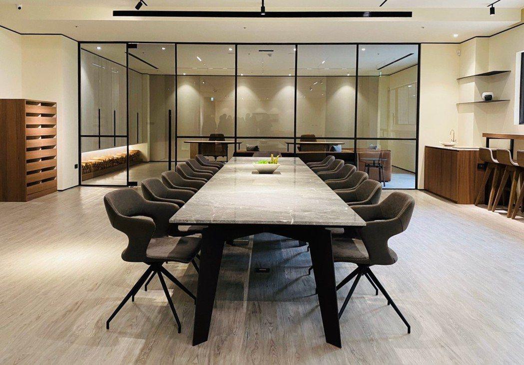 新北服務中心由楊允幀空間設計公司裝潢。 金豐禾企業(股)公司/提供