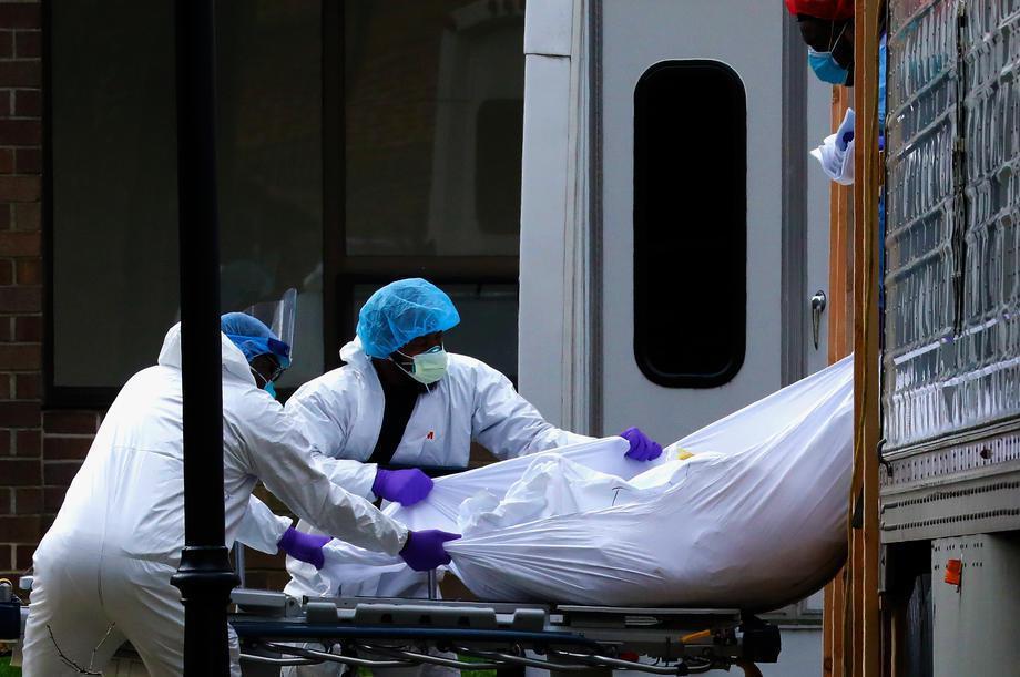 新冠肺炎疫情肆虐全球。 歐新社