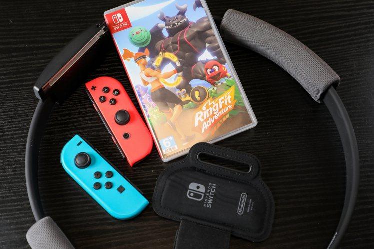 任天堂Switch健身環大冒險,建議售價2,550元。(不含Nintendo S...