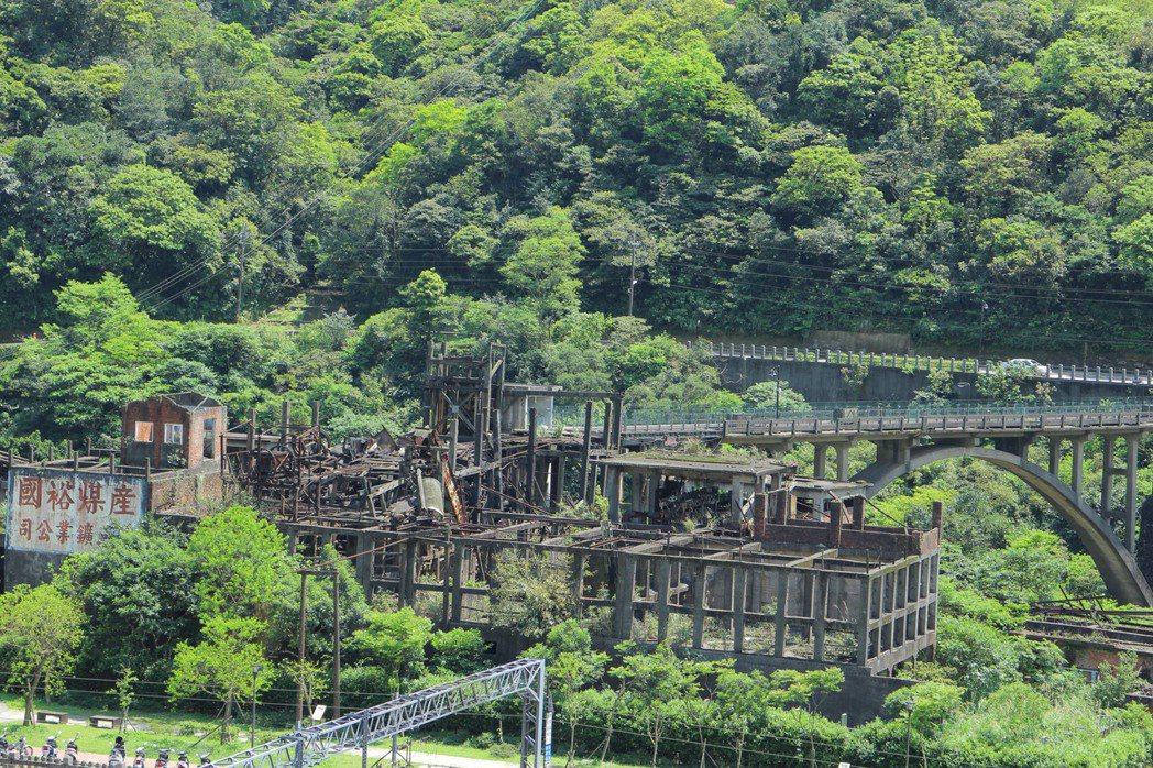 猴硐煤礦博物園區。圖/新北市觀光旅遊局提供