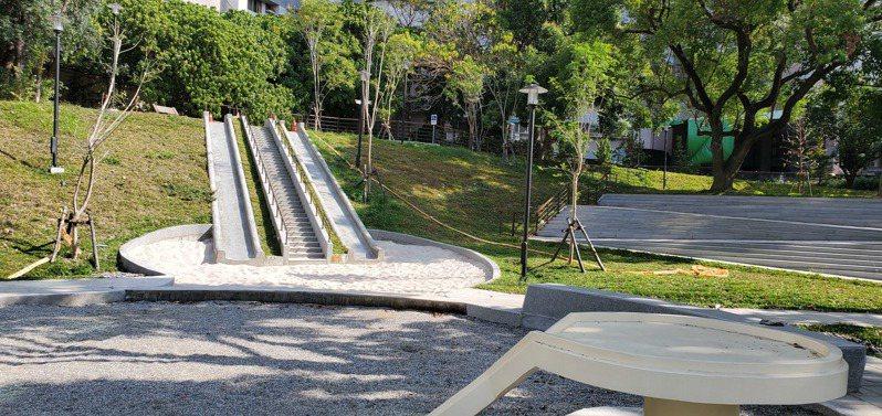位在台南市永康區的祥合公園將在明天啟用。圖/台南市工務局提供