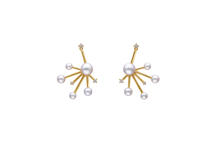 TASAKI daydream耳環,84,000元。圖/TASAKI提供
