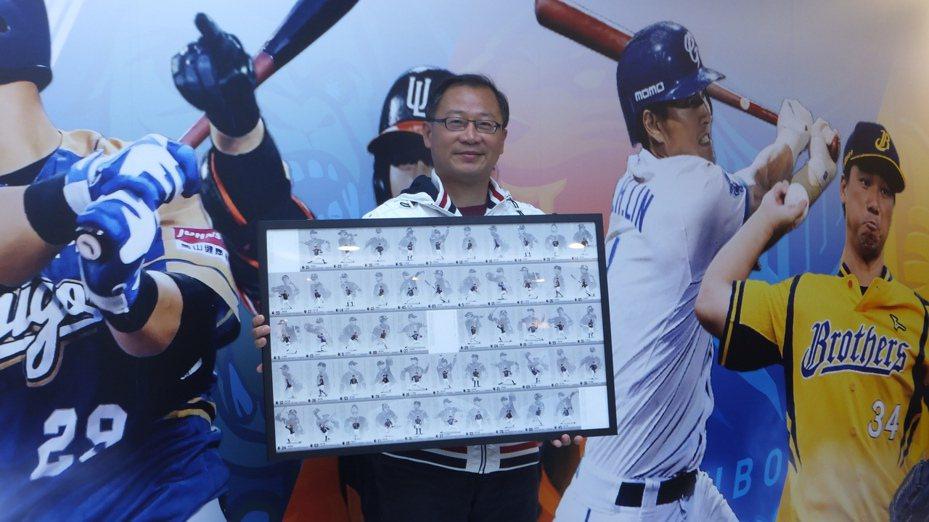 中華職棒會長吳志揚認為,有沒有巨蛋仍是爭辦經典賽的重點。記者藍宗標/攝影