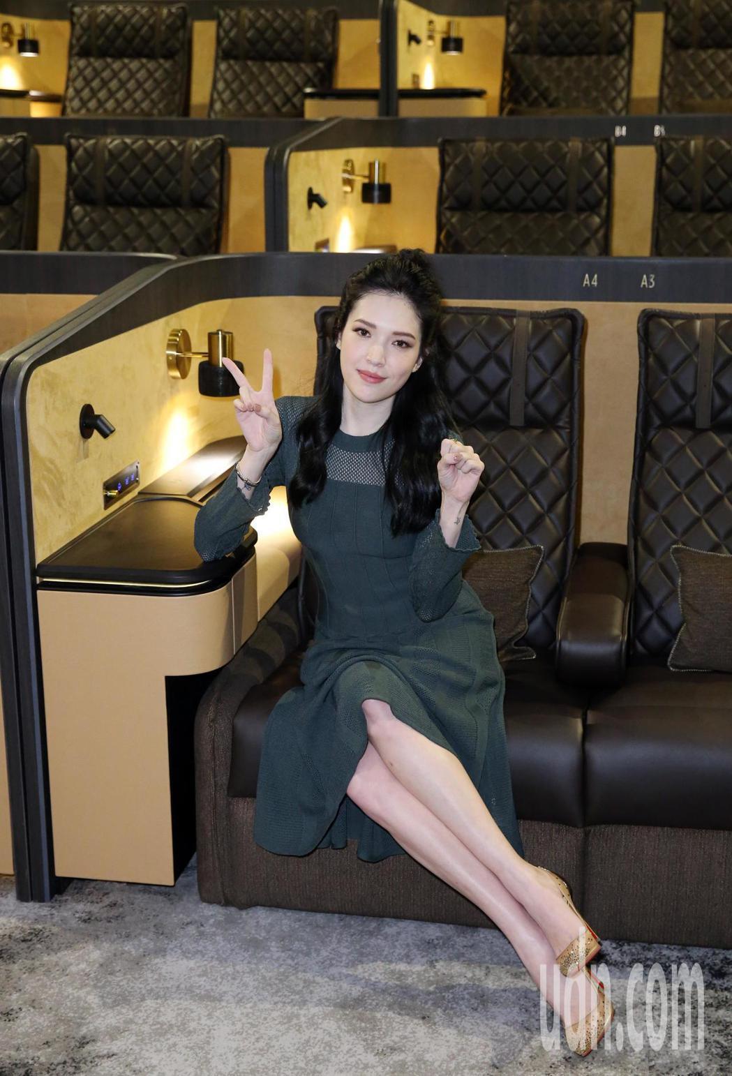 許瑋甯擔任MUVIE CINEMAS開幕嘉賓。記者曾吉松/攝影