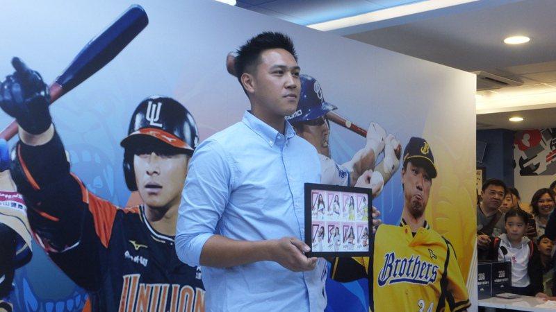 兄弟隊投手楊志龍備戰新球季,期待最快四月底正常出賽。記者藍宗標/攝影