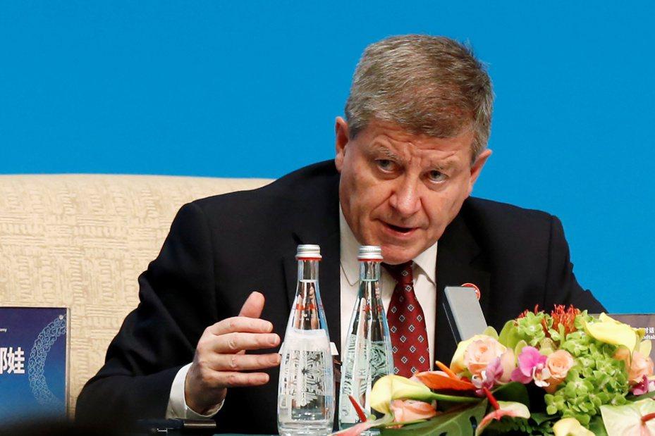 圖為國際勞工組織(ILO)秘書長賴德(Guy Ryder)。路透