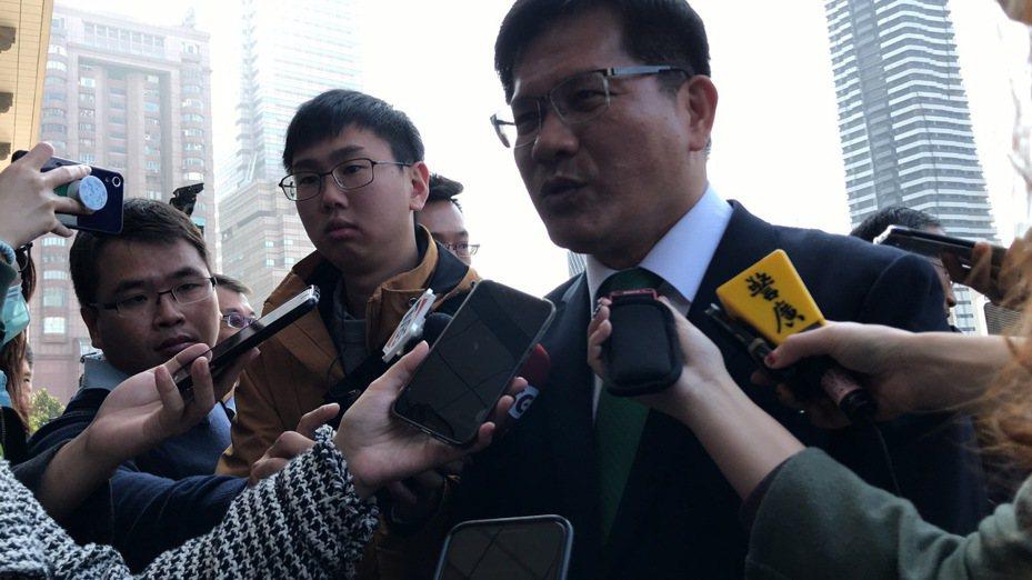 交通部長林佳龍。記者董俞佳/攝影