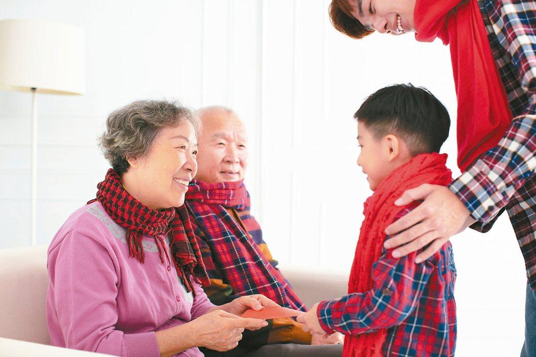 失智長輩回味祭祖、拜年等儀式活動,溫馨過新年。 圖/123RF