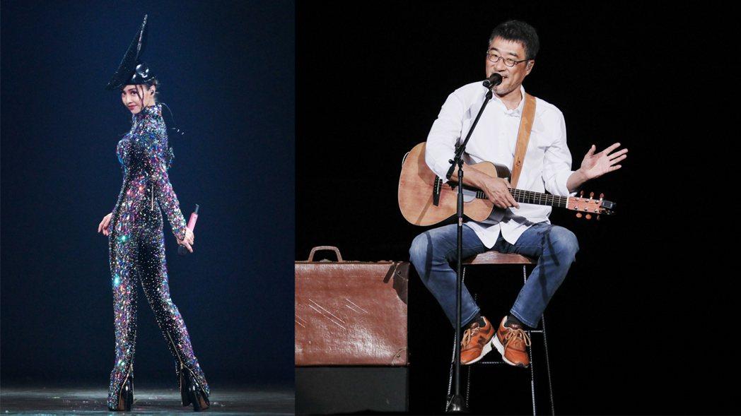 蔡依林、李宗盛宣佈演唱會延期。圖/凌時差、相信音樂提供