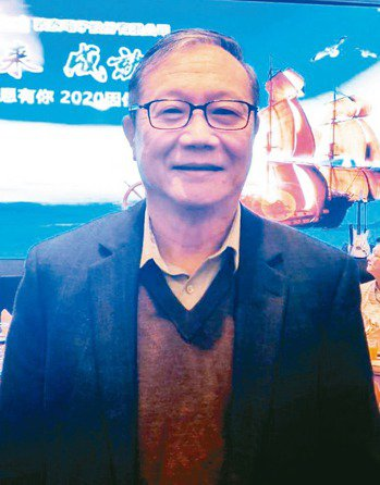 敦泰董事長胡正大 記者鐘惠玲/攝影