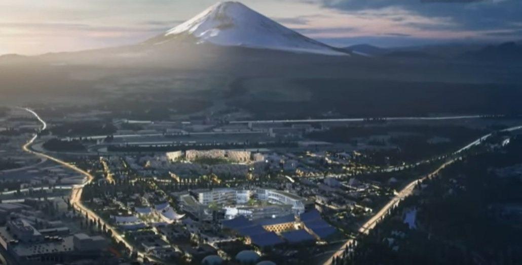Toyota智慧生活實驗城Woven City,資料來源:網路翻攝。光電科技工業...