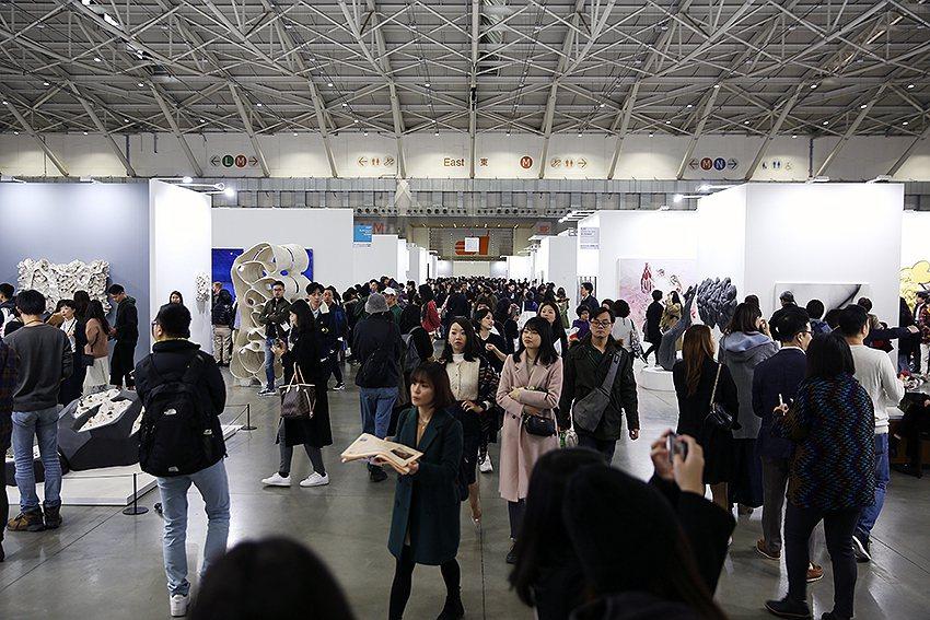 今年吸引超過4萬人進場觀展,相較去年有大幅成長。 台北當代/提供