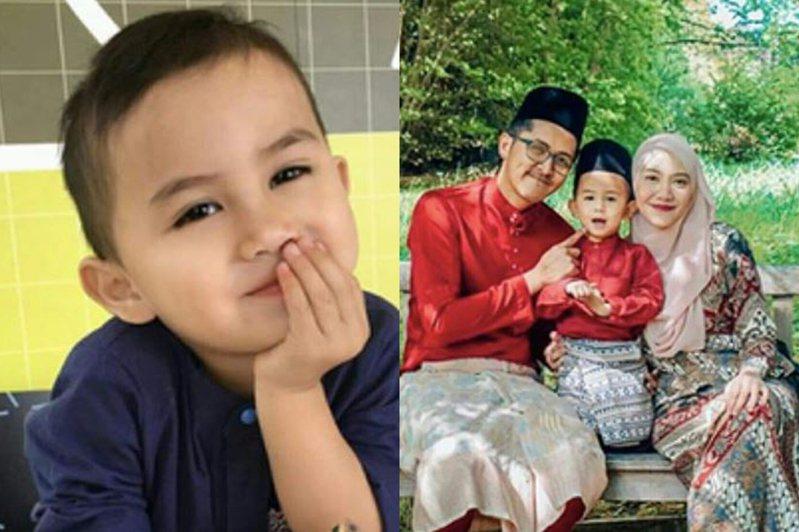 馬來西亞男童哈里茲智商高達142。圖翻攝自twitter@bro_sulaiman