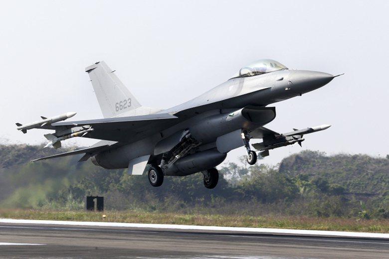 F-16V戰機。 圖/美聯社