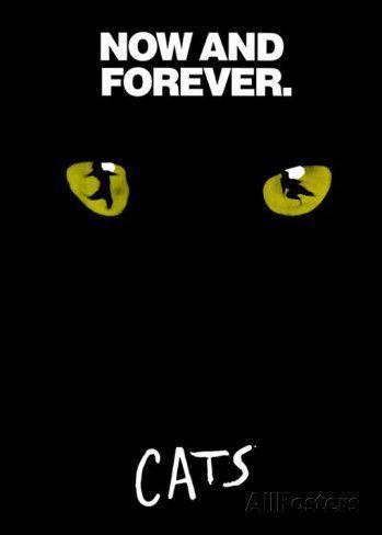 不管《貓》劇被譯成哪一國語言,我們都能看到黑底黃目,上面有手寫體的標準字體。 圖...