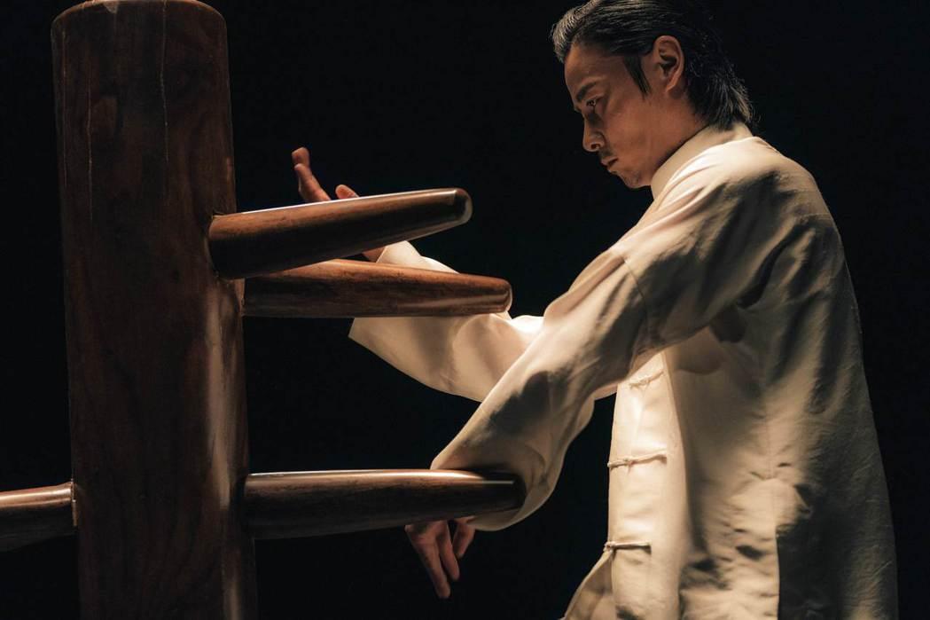 張晉在「葉問外傳:張天志」有許多精彩武打戲。圖/華映娛樂提供