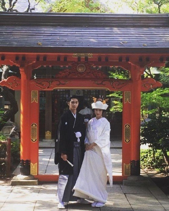 東出昌大與杏2015年結婚。圖/摘自Yahoo Japan