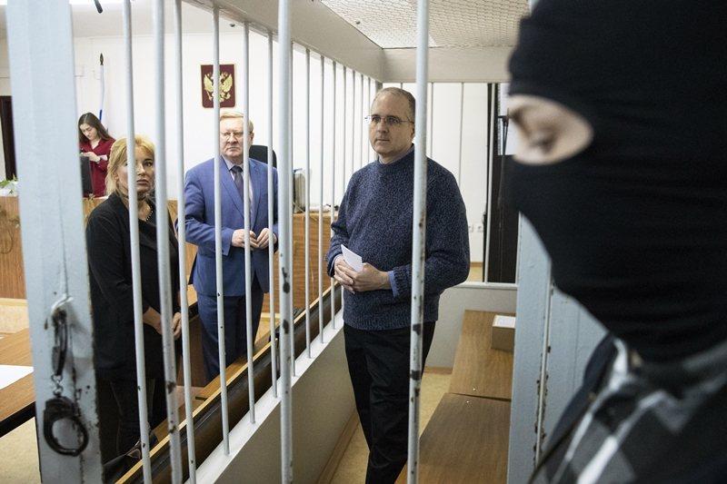 美國人保羅・惠蘭由於涉嫌間諜活動,2018年底在莫斯科遭俄羅斯FSB逮捕。 圖/...