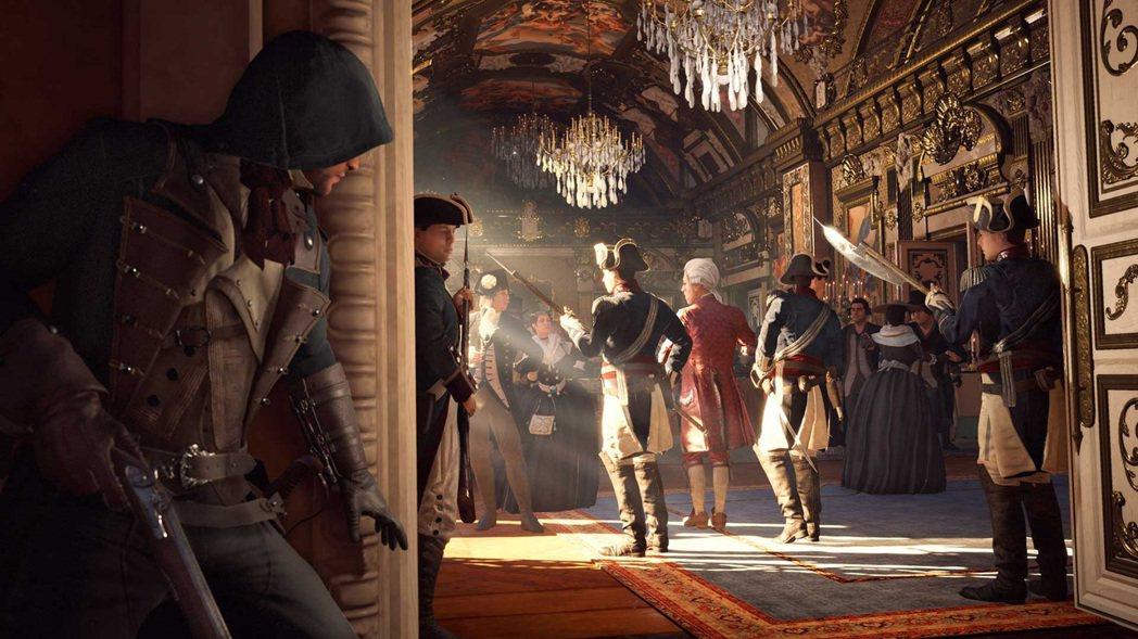Ubisoft《刺客教條:大革命》遊戲畫面